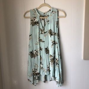 Free people floral dress/tunic